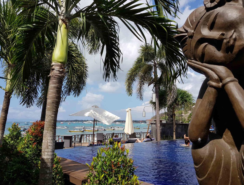 Spunti di Viaggio- perchè Andare a Nusa Lembogan: e cosa vedere giunti qui_ vista mozzafiato dalla piscina