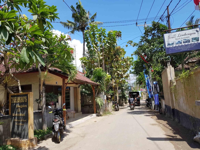 per le strade di Nusa Lembongan. Spunti di Viaggio - perchè andare e cosa vedere aNusa Lembongan