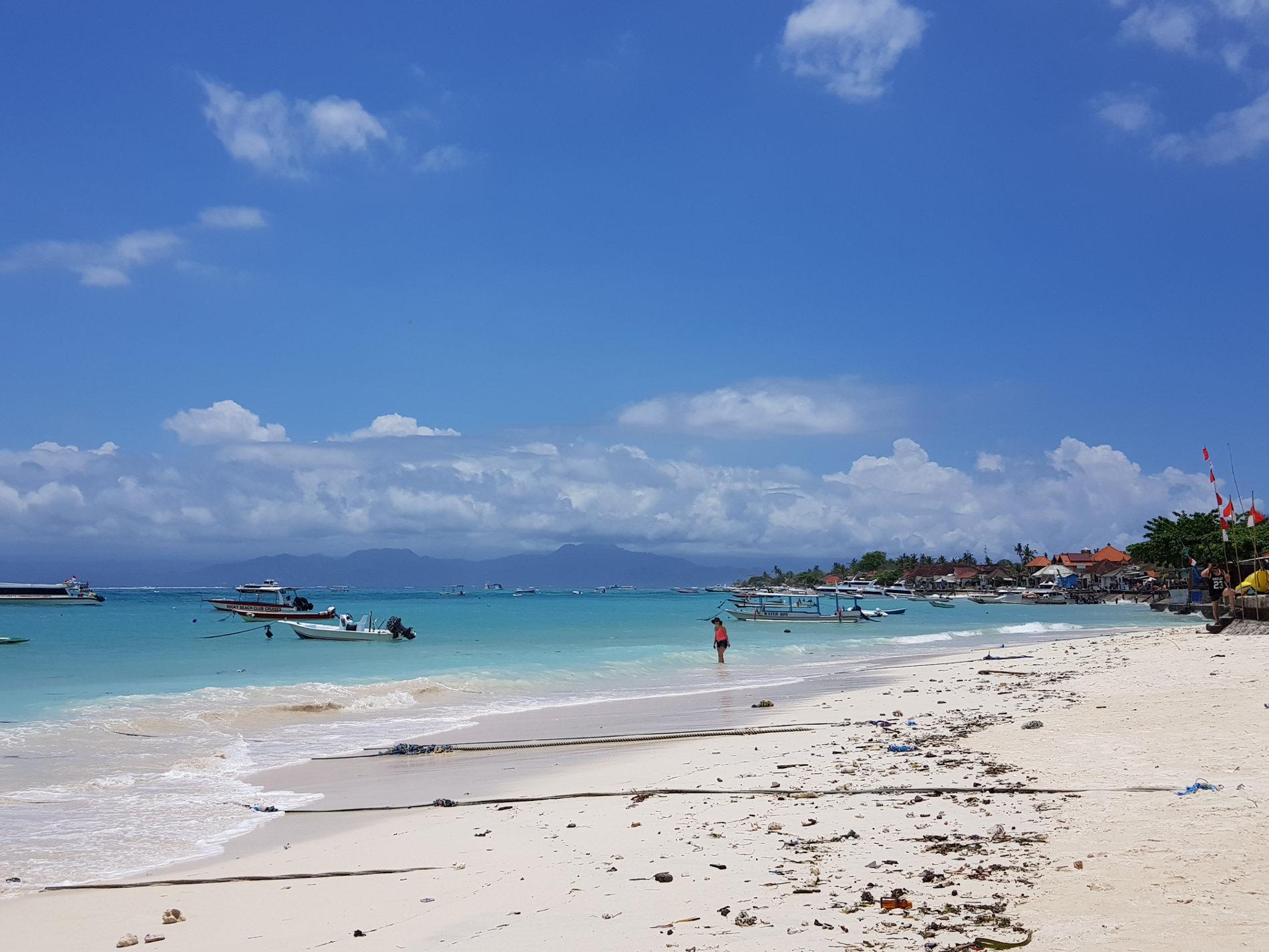 Spunti di Viaggio-Perchè andare e cosa vedere a Nusa Lembongan. lo sbrco a nusa Lembongan