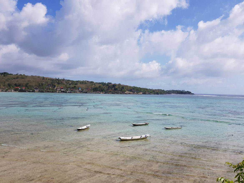 Lo stretto fra Nusa Lembongan e Nusa Ceningan- Spunti di Viaggio. Perchè andare e cosa vedere a Nusa Lembongan