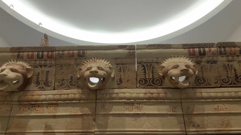 Il Museo Nazionale della Magna Grecia a Reggio Calabria, frontali di tempio