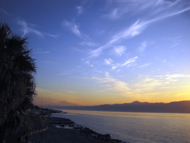 Il lungomare di Reggio Calabria dove si affaccia il Museo Nazionale della Magna Grecia