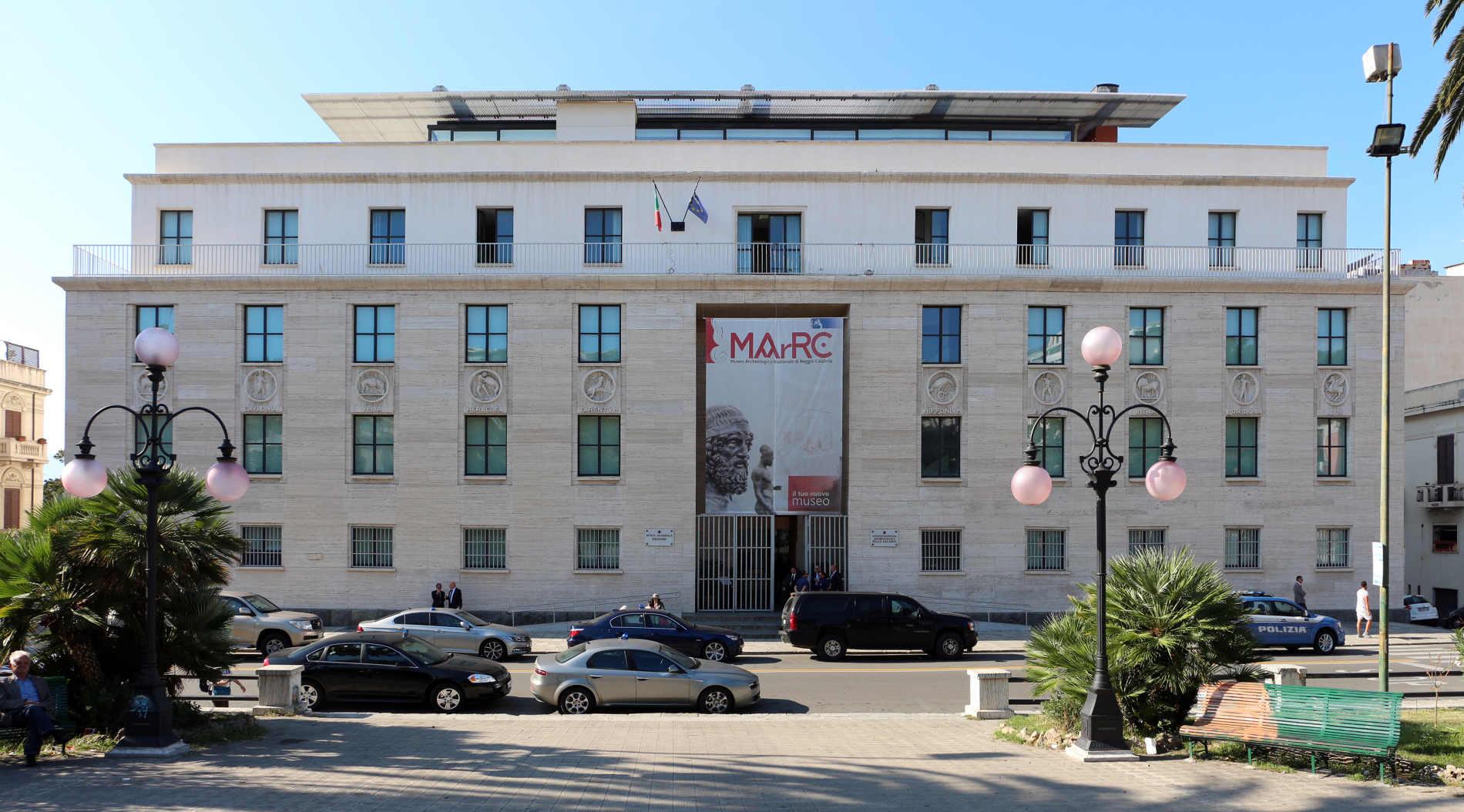 Il Museo Nazionale della Magna Grecia a Reggio Calabria: immagine fonte web wikipedia di Palazzo Piacentini. Testo Spunti di Viaggio - Travel and LifeStyle
