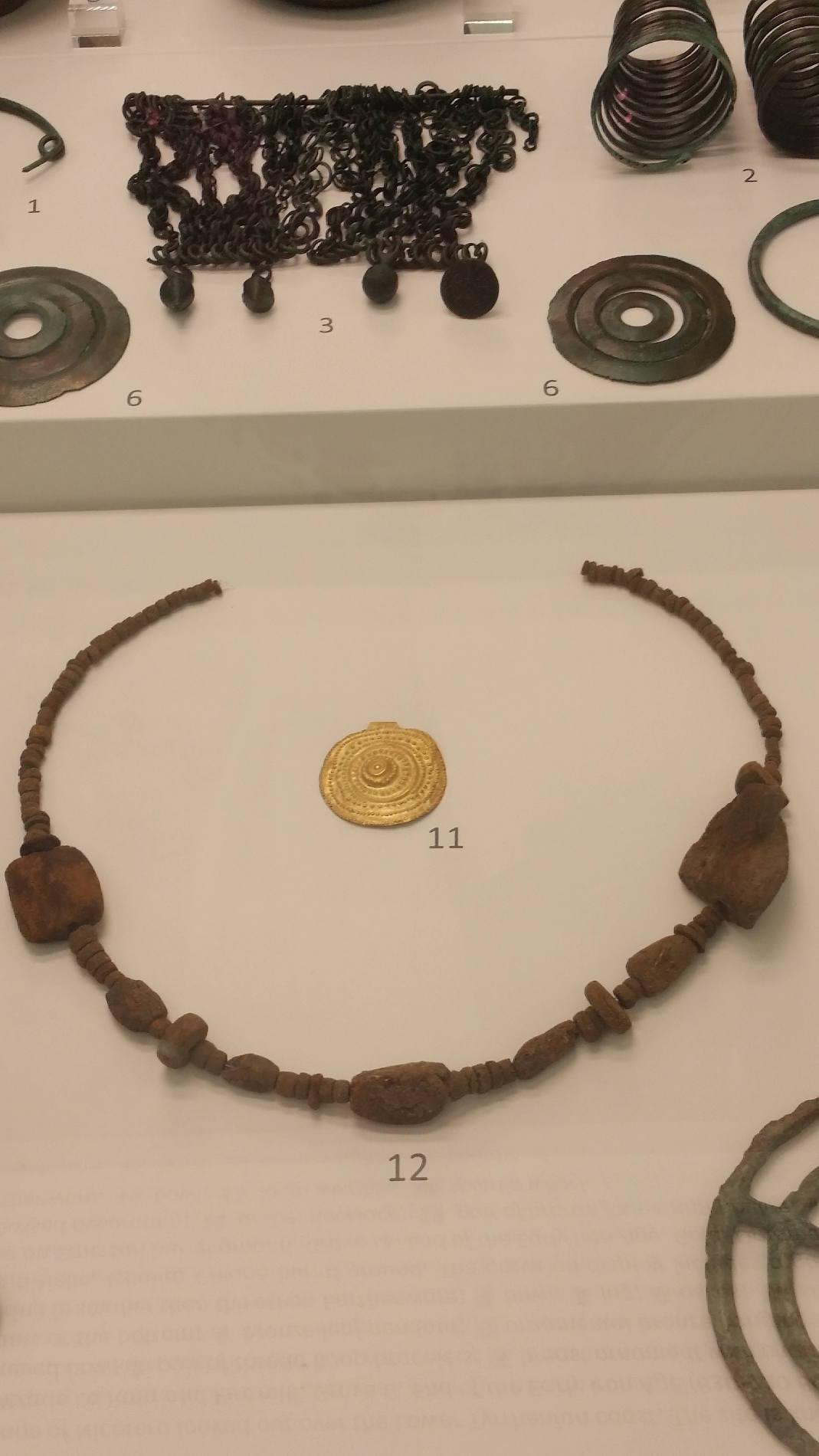 Il Museo Nazionale della Magna Grecia a Reggio Calabria, monili