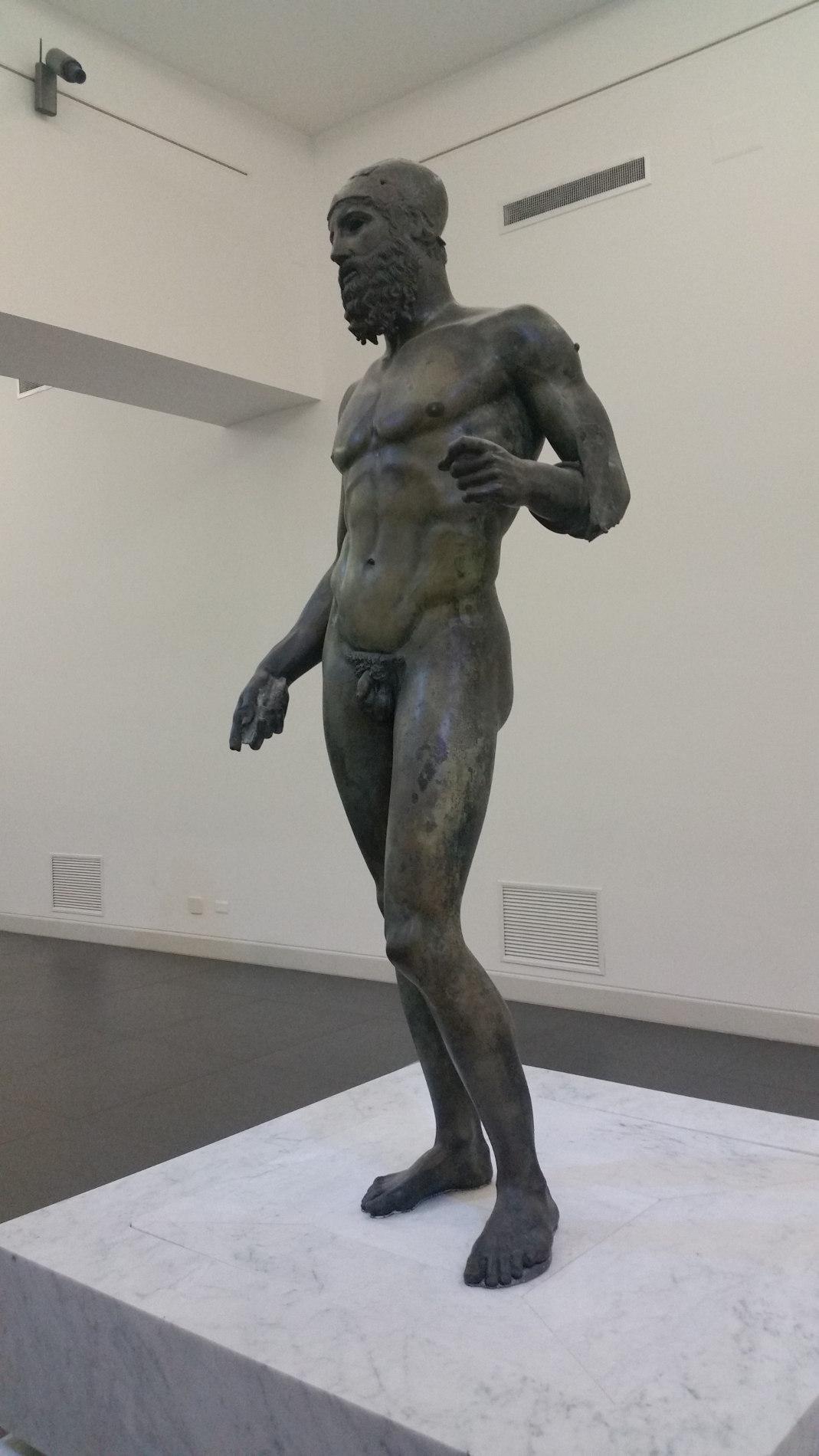 Il Museo Nazionale della Magna Grecia a Reggio Calabria, Bronzi di Riace, Statua B