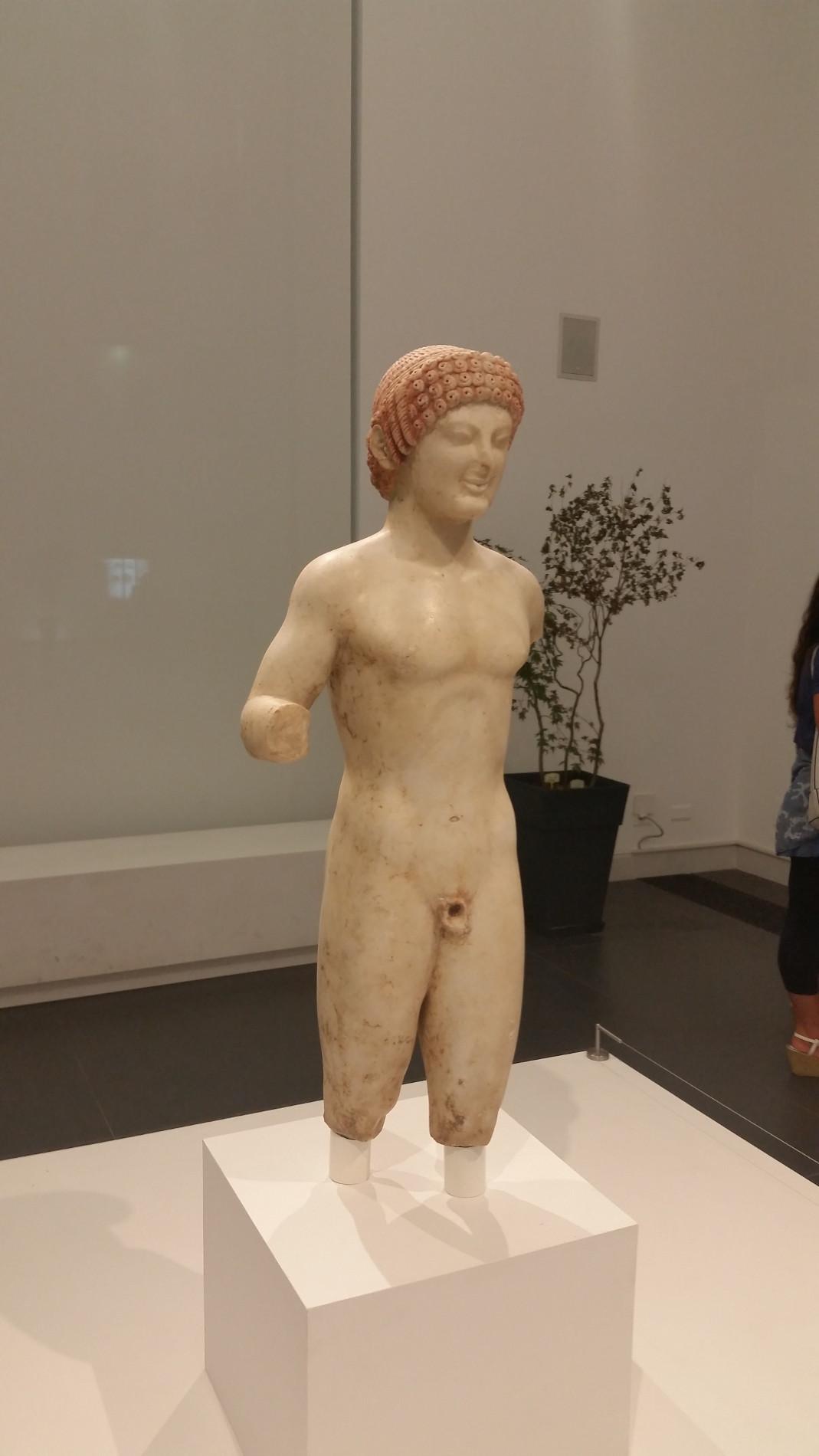 Il Museo Nazionale della Magna Grecia a Reggio Calabria, Kourus