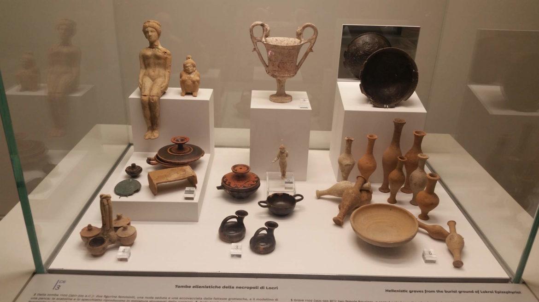 Il Museo Nazionale della Magna Grecia a Reggio Calabria, dalla Necropoli di Locri