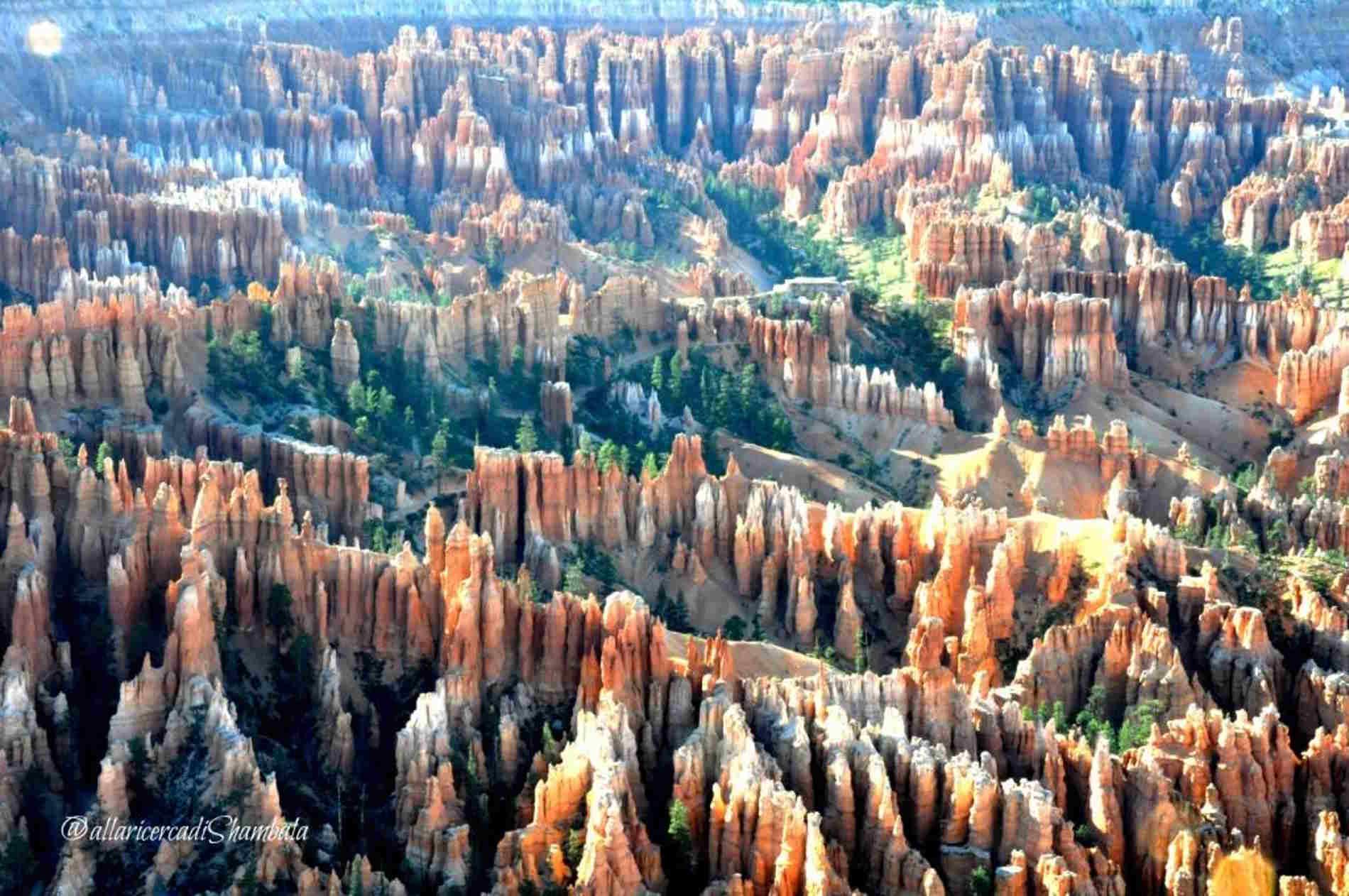 Panorami dal Bryce Canyon nell'Ovest degli U.S.A. in Blog di Viaggi