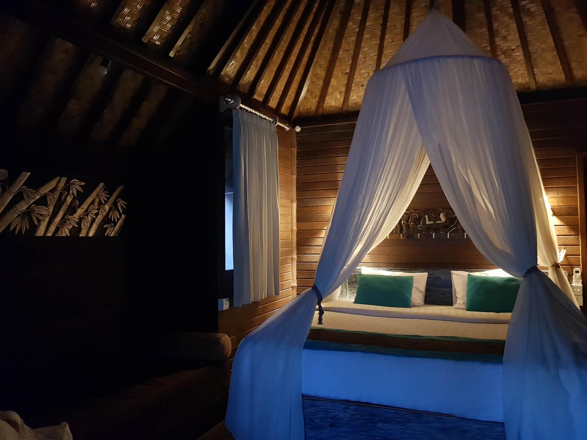 Dove dormire a Bali:camera da letto