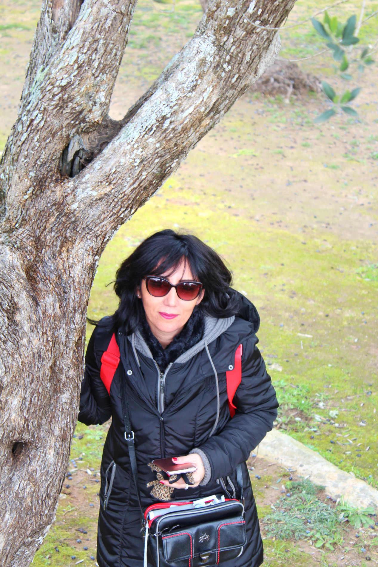 Travel blogger Marika