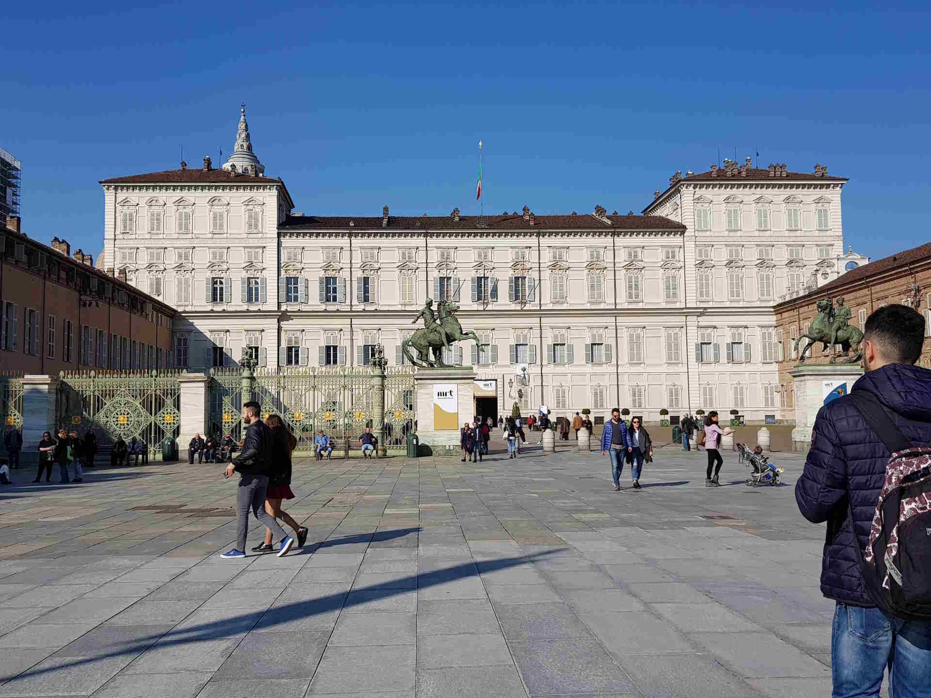 Il magnifico Palazzo Reale nel centro di Torino. cosa vedere a Torino