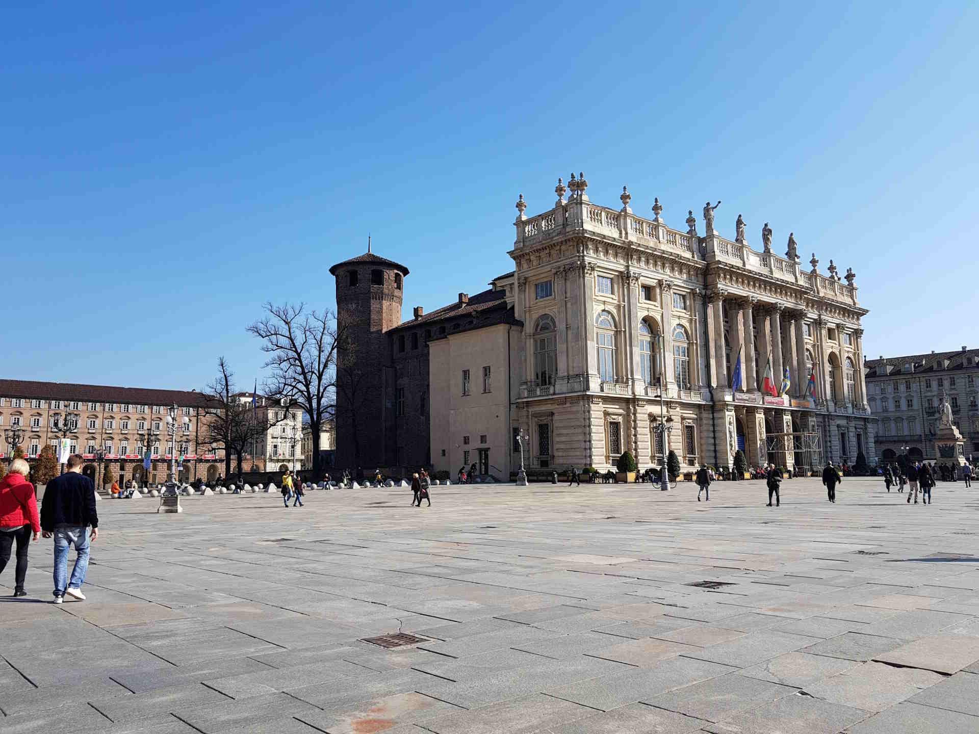 cosa vedere a torino, Piazza Castello e Palazzo Madama