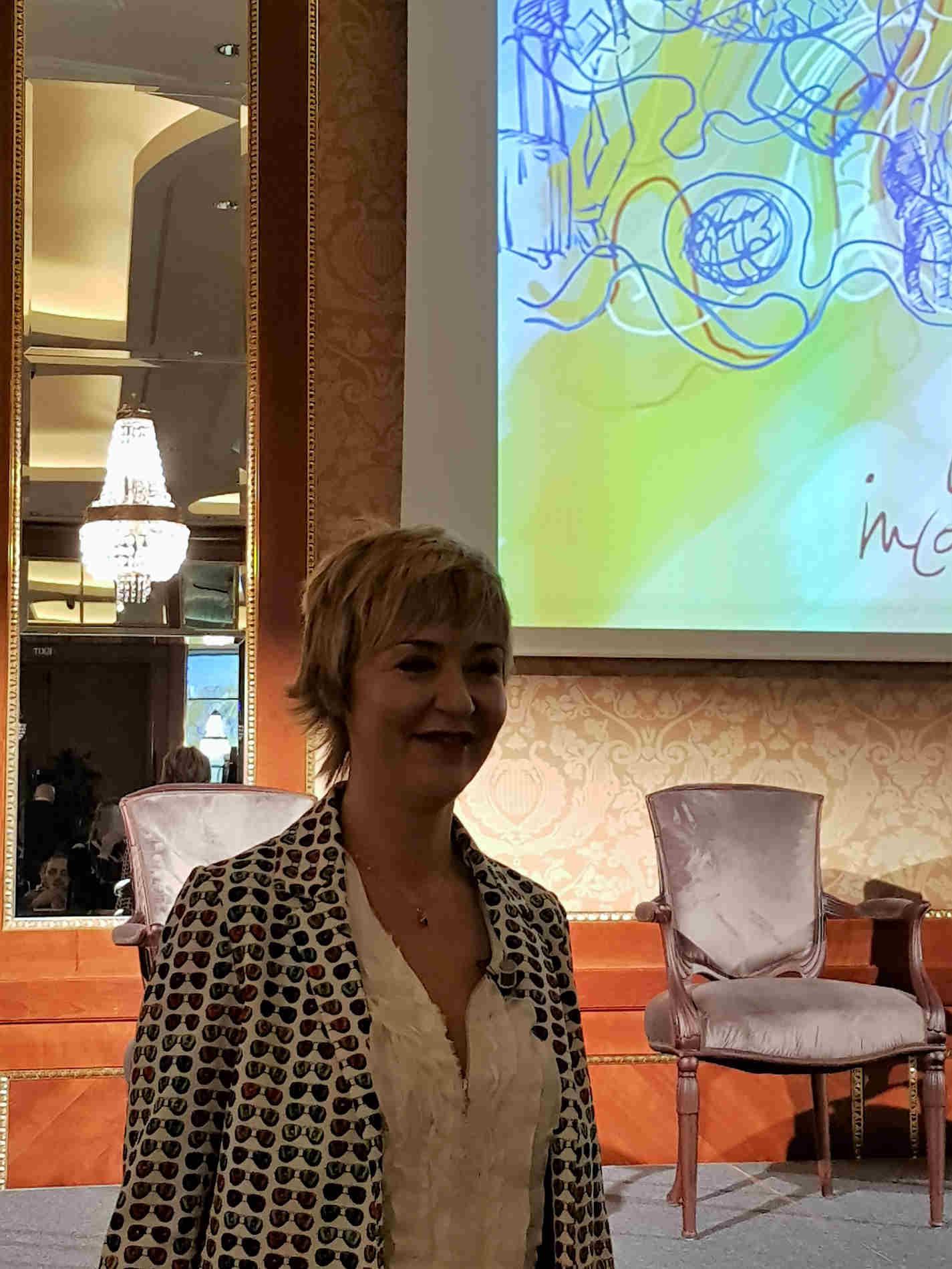Paola Frigerio, alla presentazione di OpenCITY App e Card!