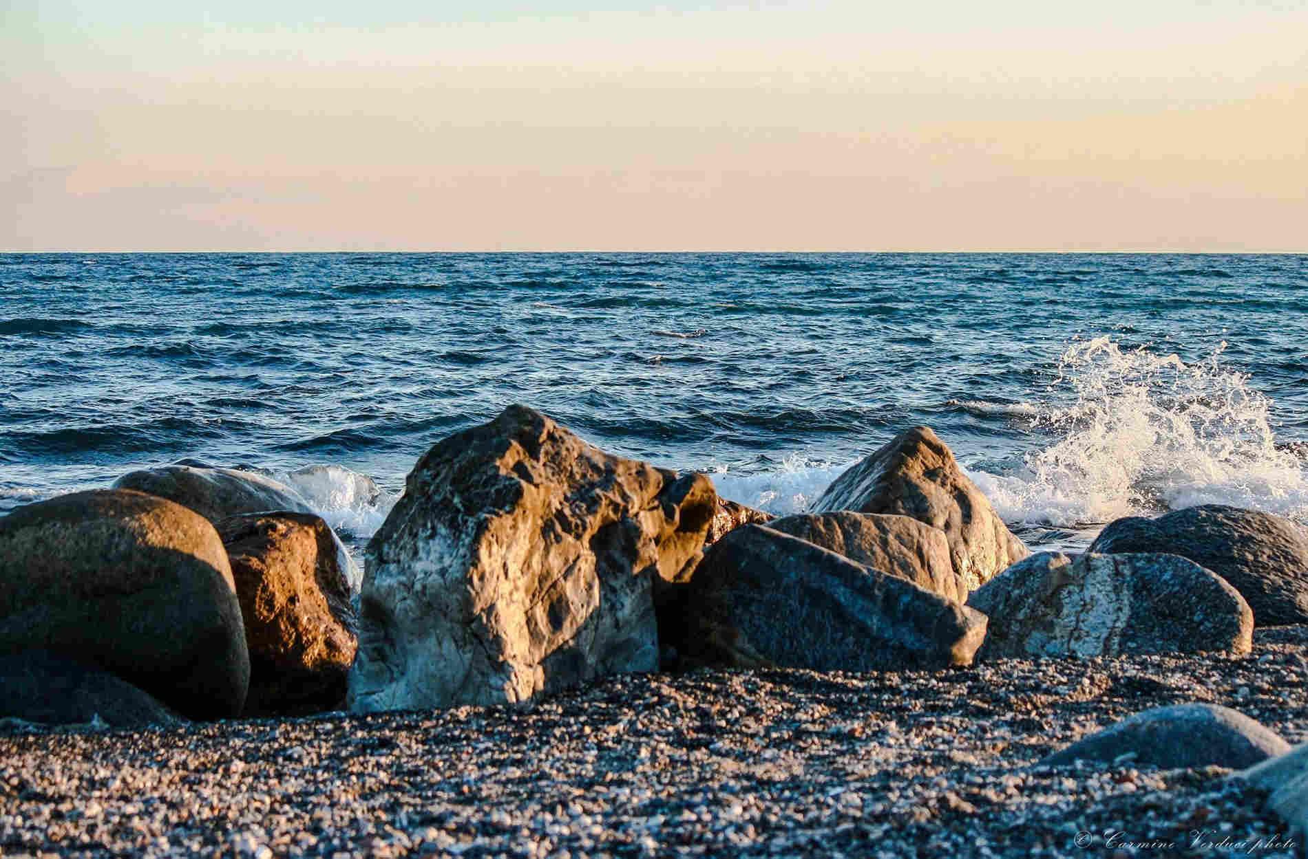 Calabria - Ol mare di Brancaleone Marina a Reggio Calabria