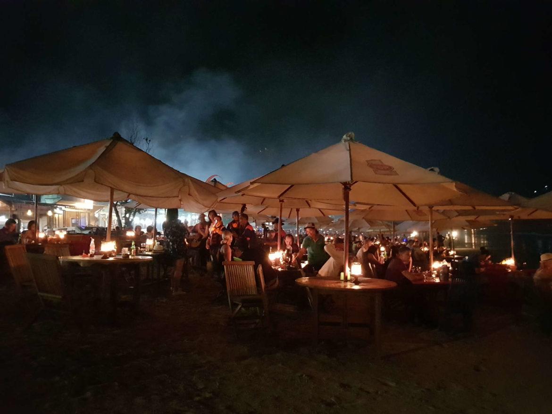 Viaggio a Bali Cena a Jimbaran Beach