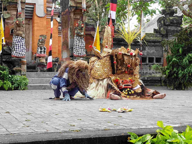 Viaggio a Bali Danze Barong a Ubud