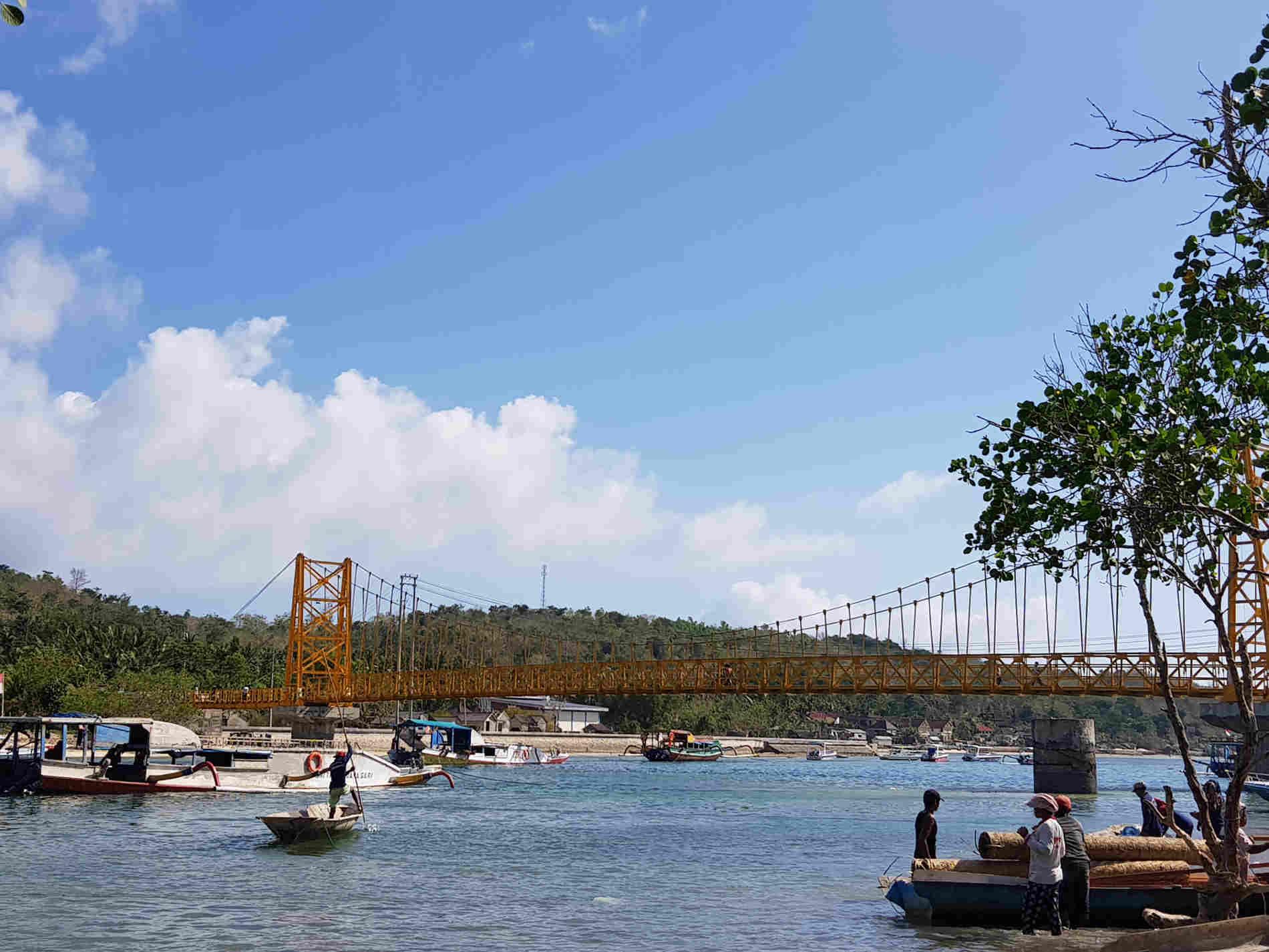 Il Ponte Giallo fra Nusa Lembongan e Nusa Ceningan