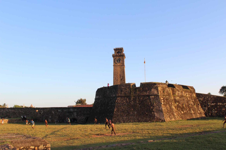 Forte portoghese a Galle viaggio in Sri lanka
