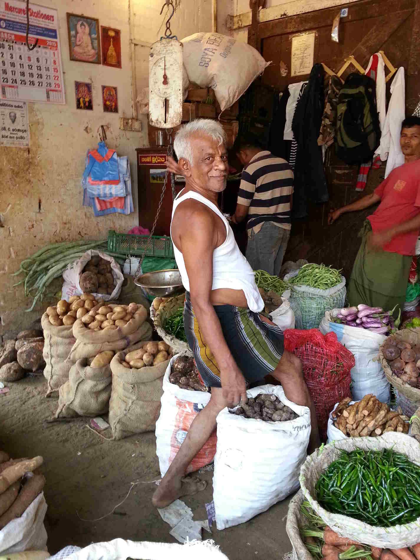 Viaggio in Sri Lanka mercati