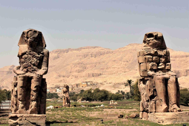 Itinerario in Egitto Colossi di Memnone