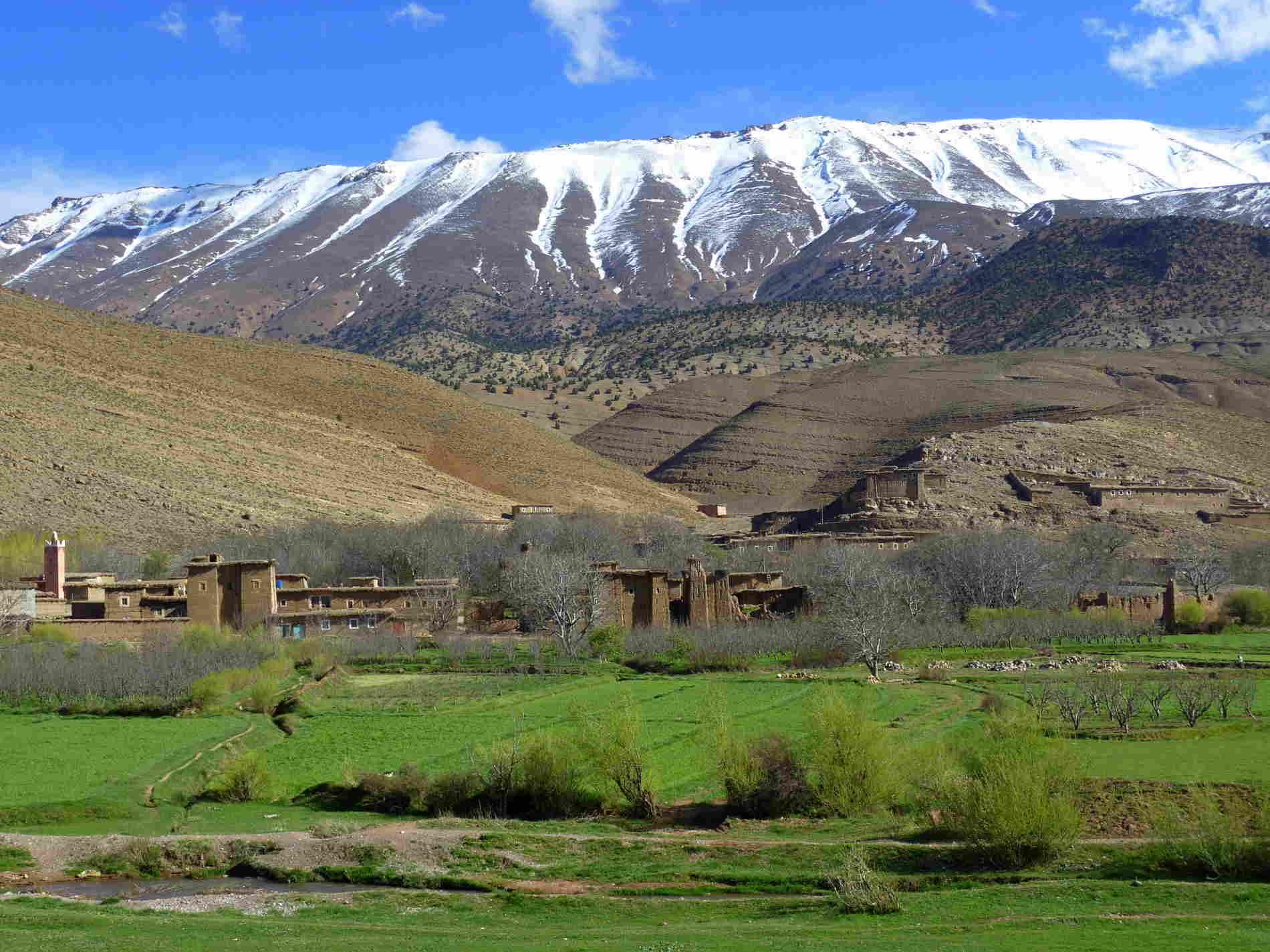 Ait Bougmez: la Happy Valley viaggio in Marocco