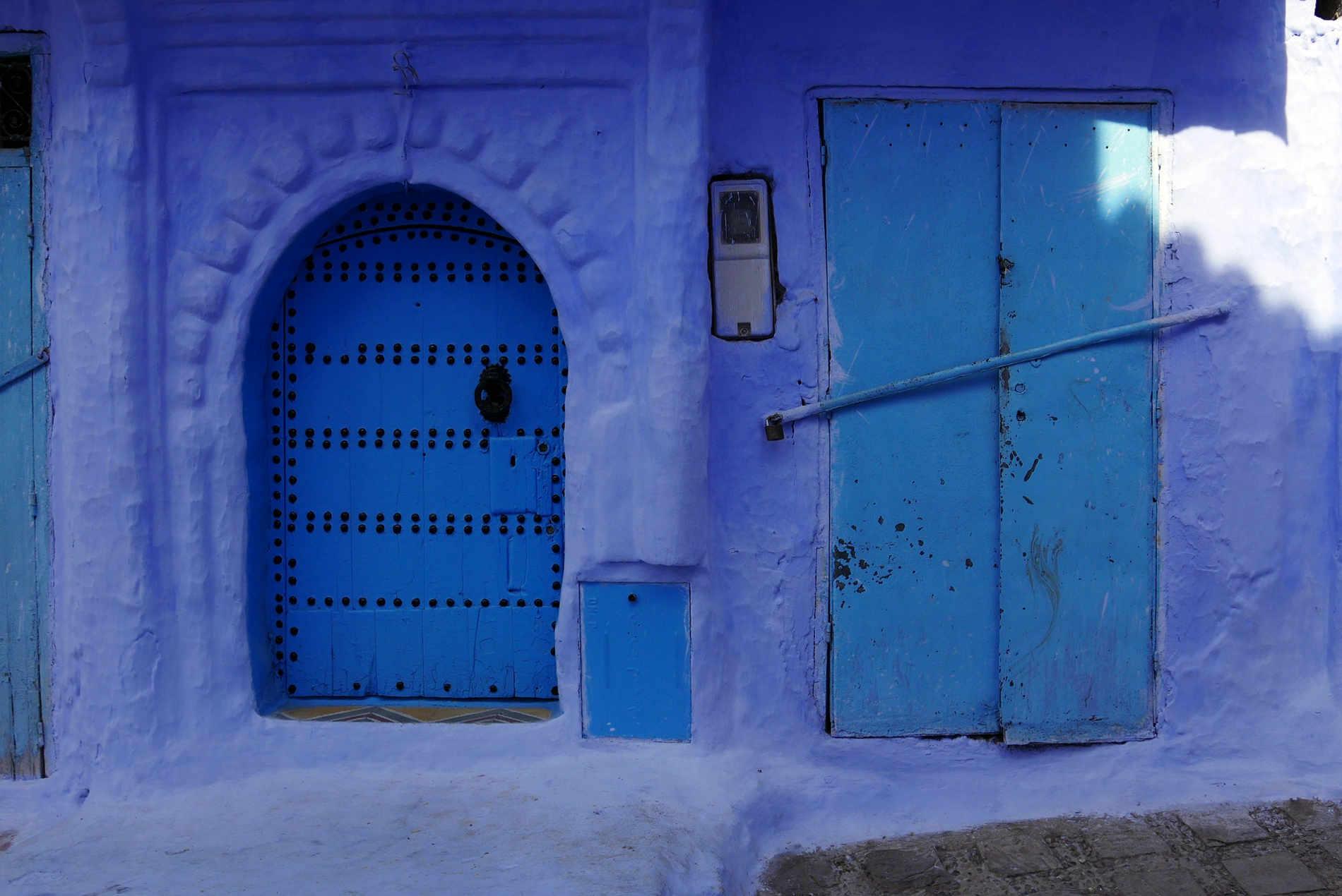 Chefchaouen _ La città blu del Marocco. Viaggio in Marocco