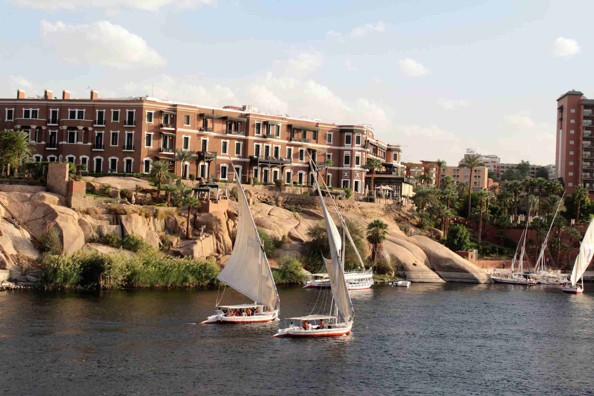 Old Cataract Hotel Aswan crociera sul Nilo