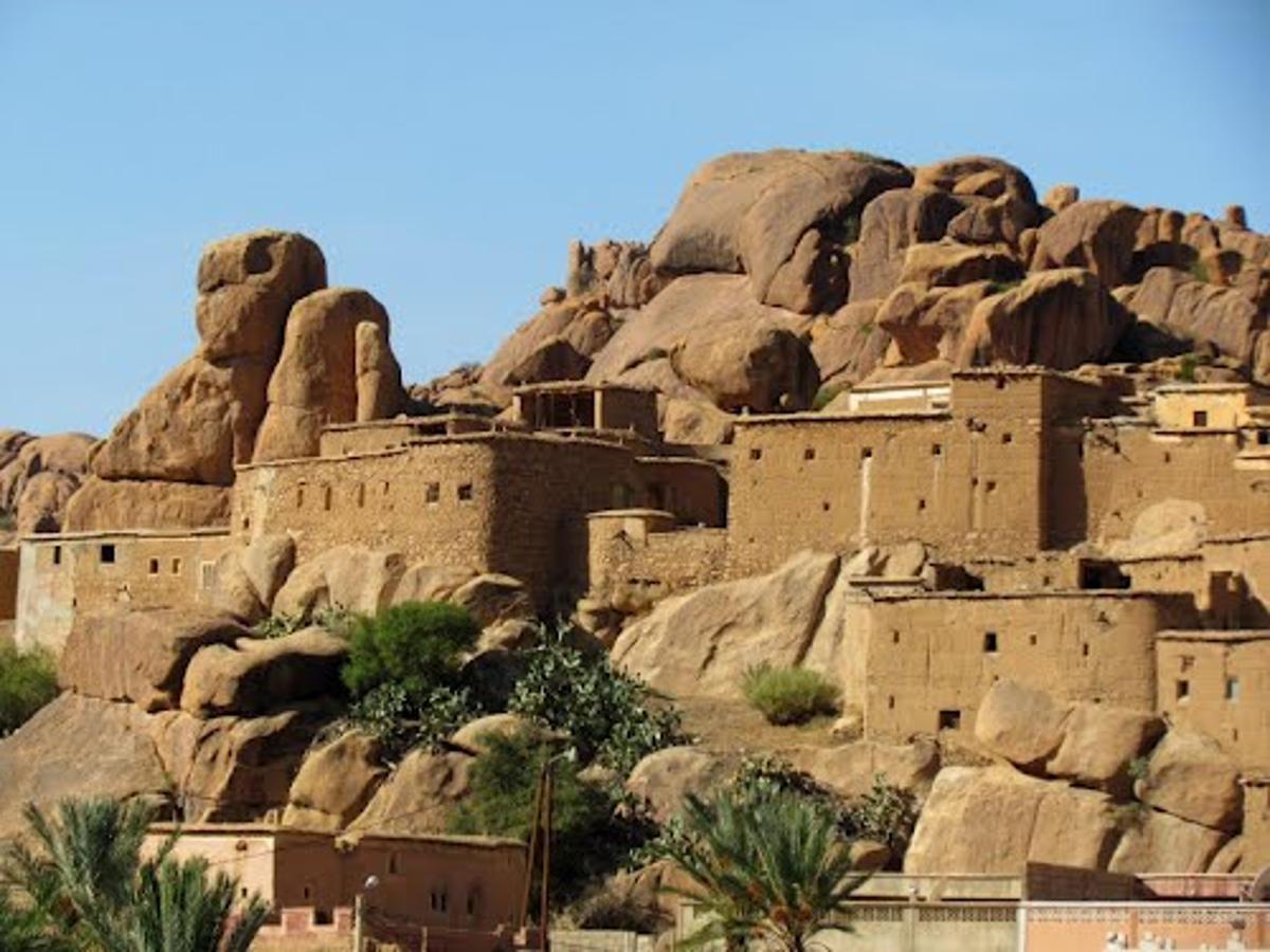 Tazka. Tafraoute, viaggio in Marocco Morocco.