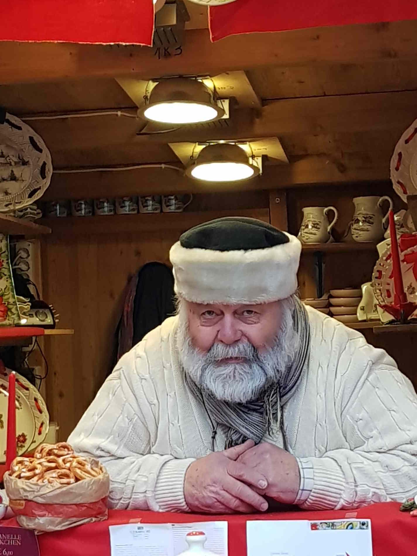 Babbo Natale nei mercatini di Natale in Alto Adige