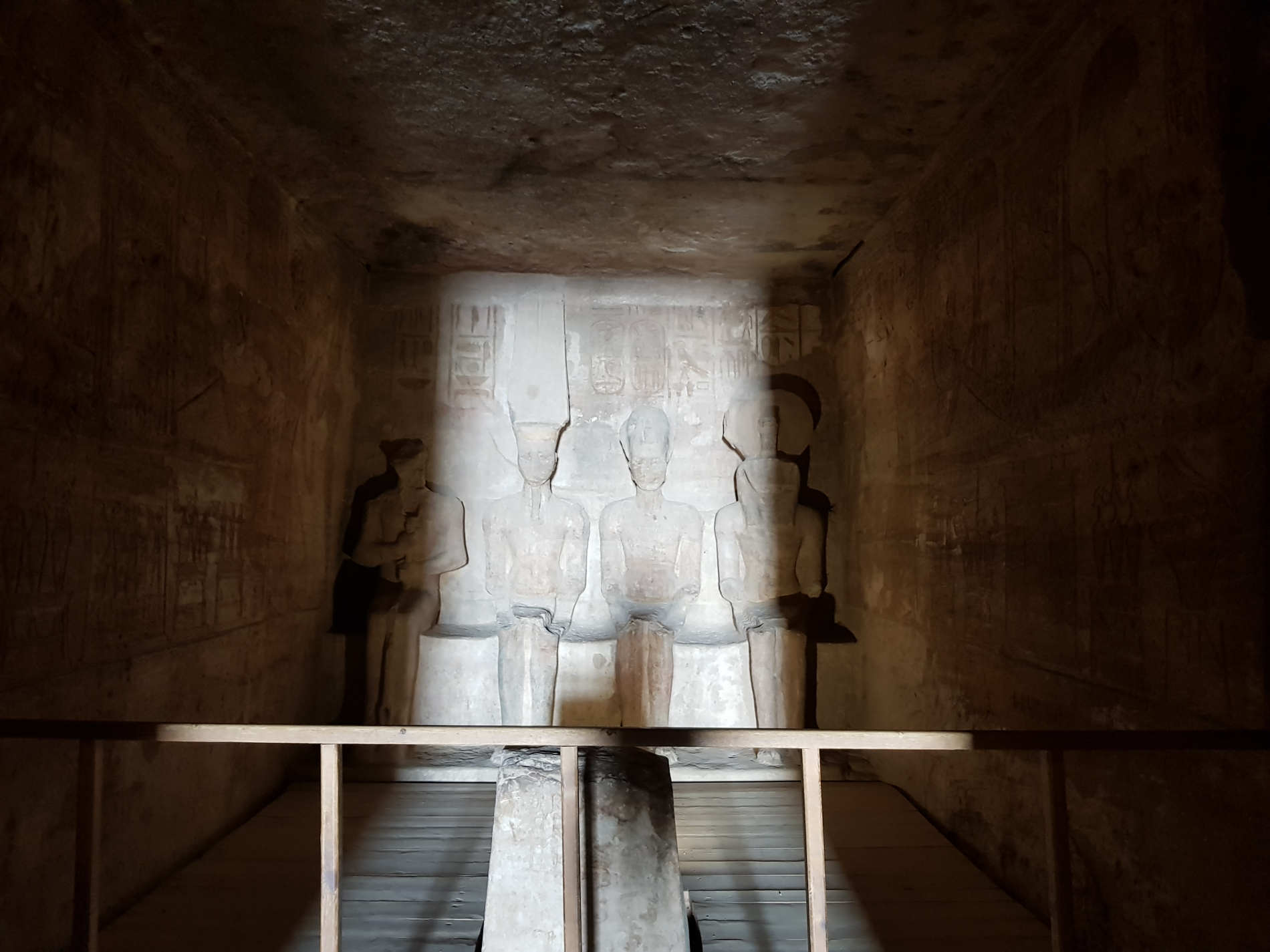 Sancta sanctorum del tempio grande di Abu Simbel