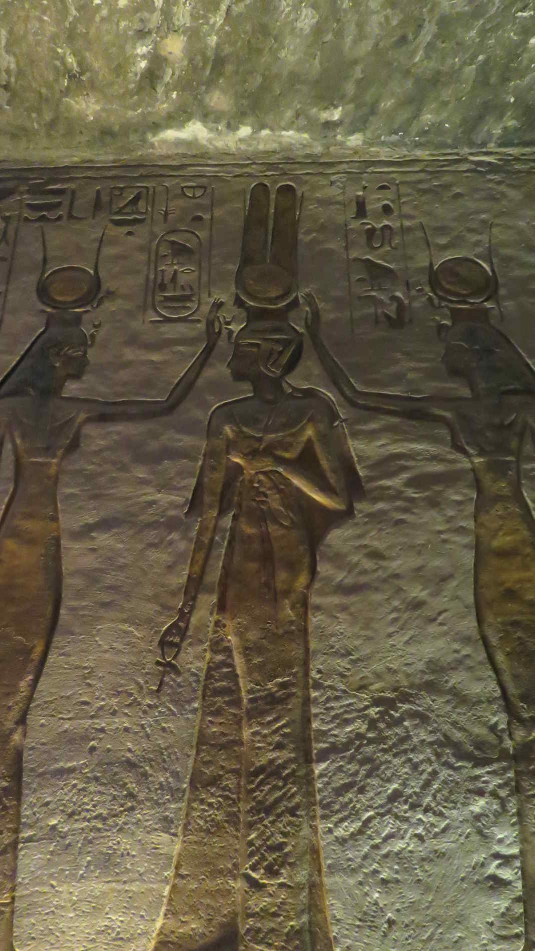 Incoronazione della Regina Nefertati Abu Simbel