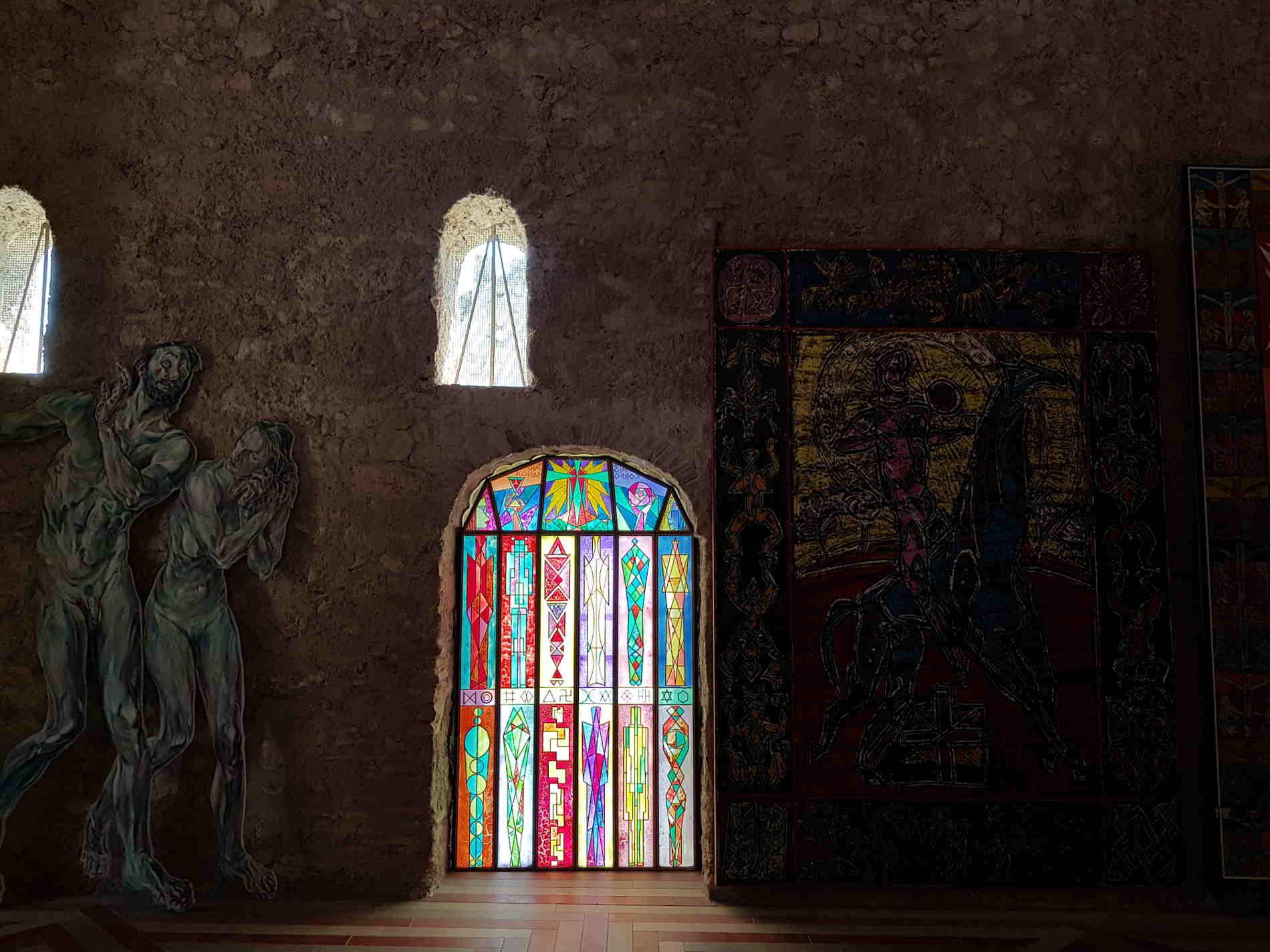 MUSABA Interno della ex Chiesa di Santa Barbara
