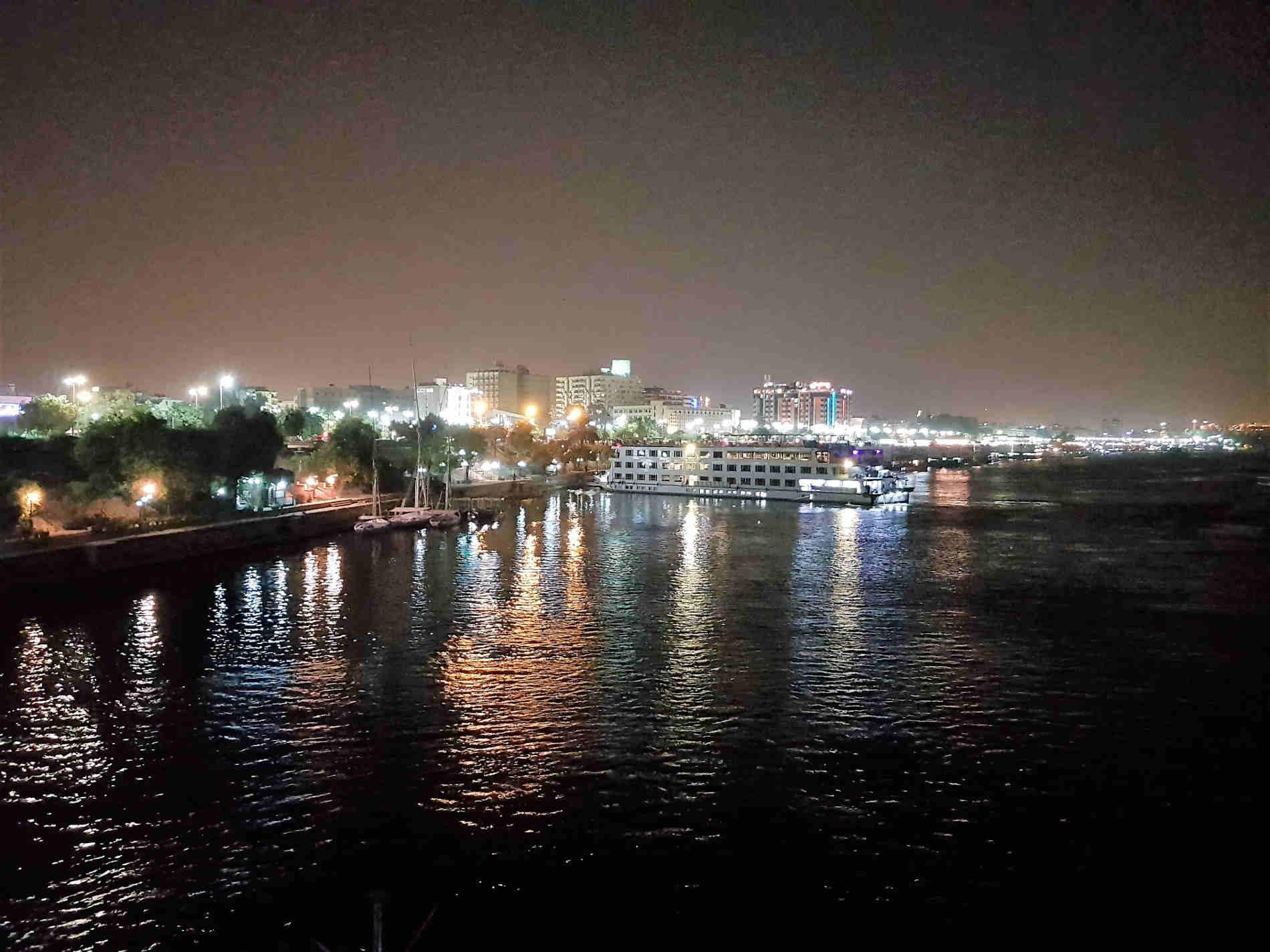 crrociera sul fiume Nilo arrivo a Assuan