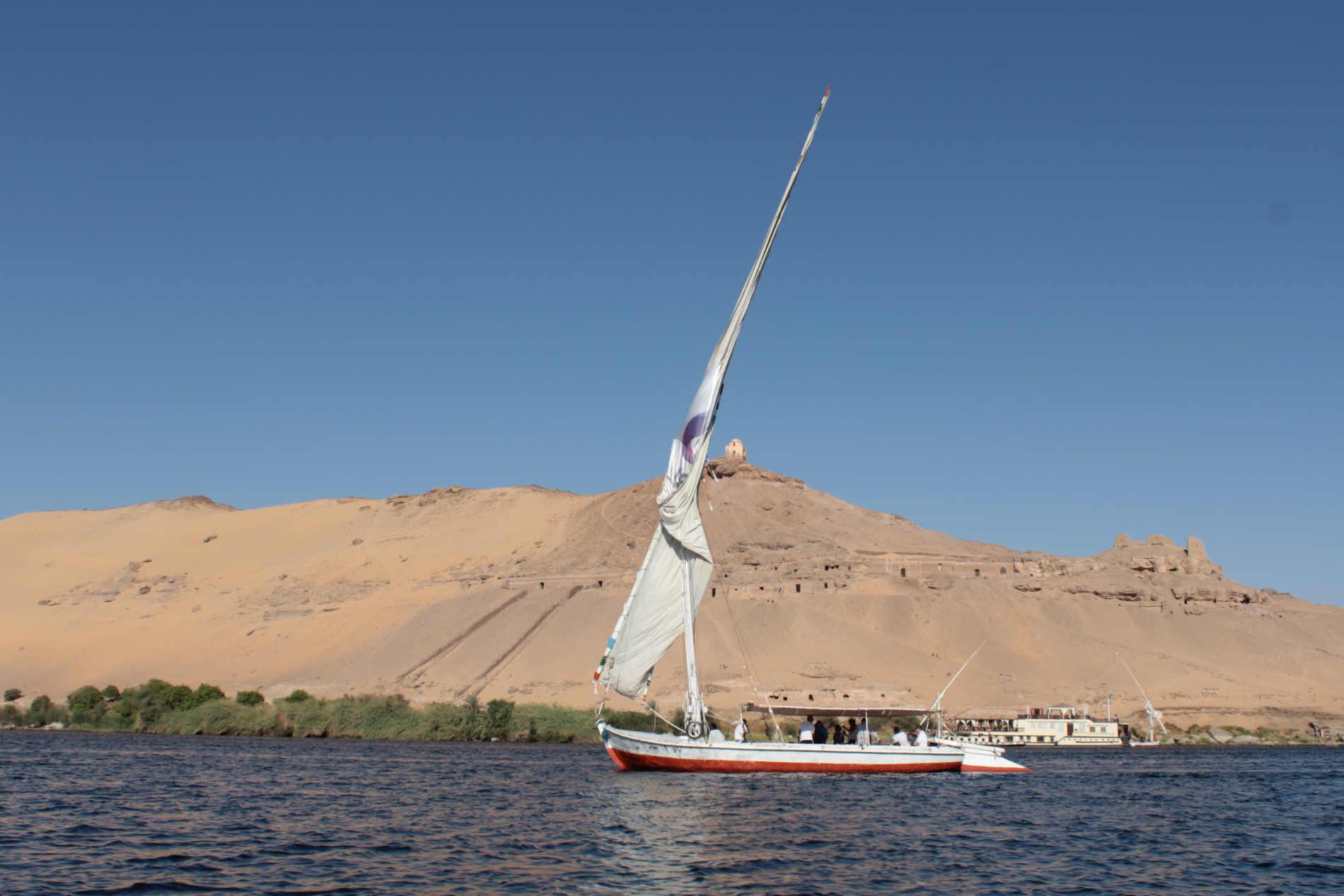 crociera sul Fiume Nilo feluche ad Aswan Assuan