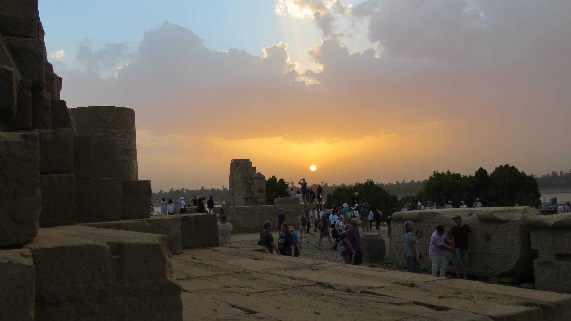 crociera sul fiume Nilo Tramonto a Kom Ombo