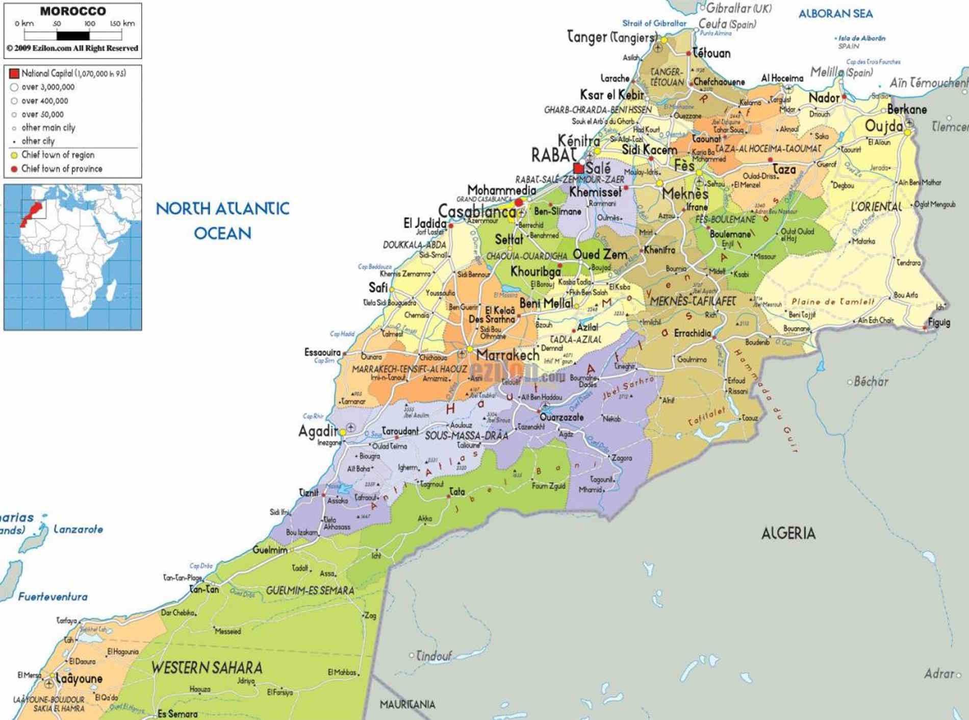 Cartina Politica Del Marocco.Cosa Vedere A Ouarzazate E Dintorni La Via Delle Kasbah E Delle Rose