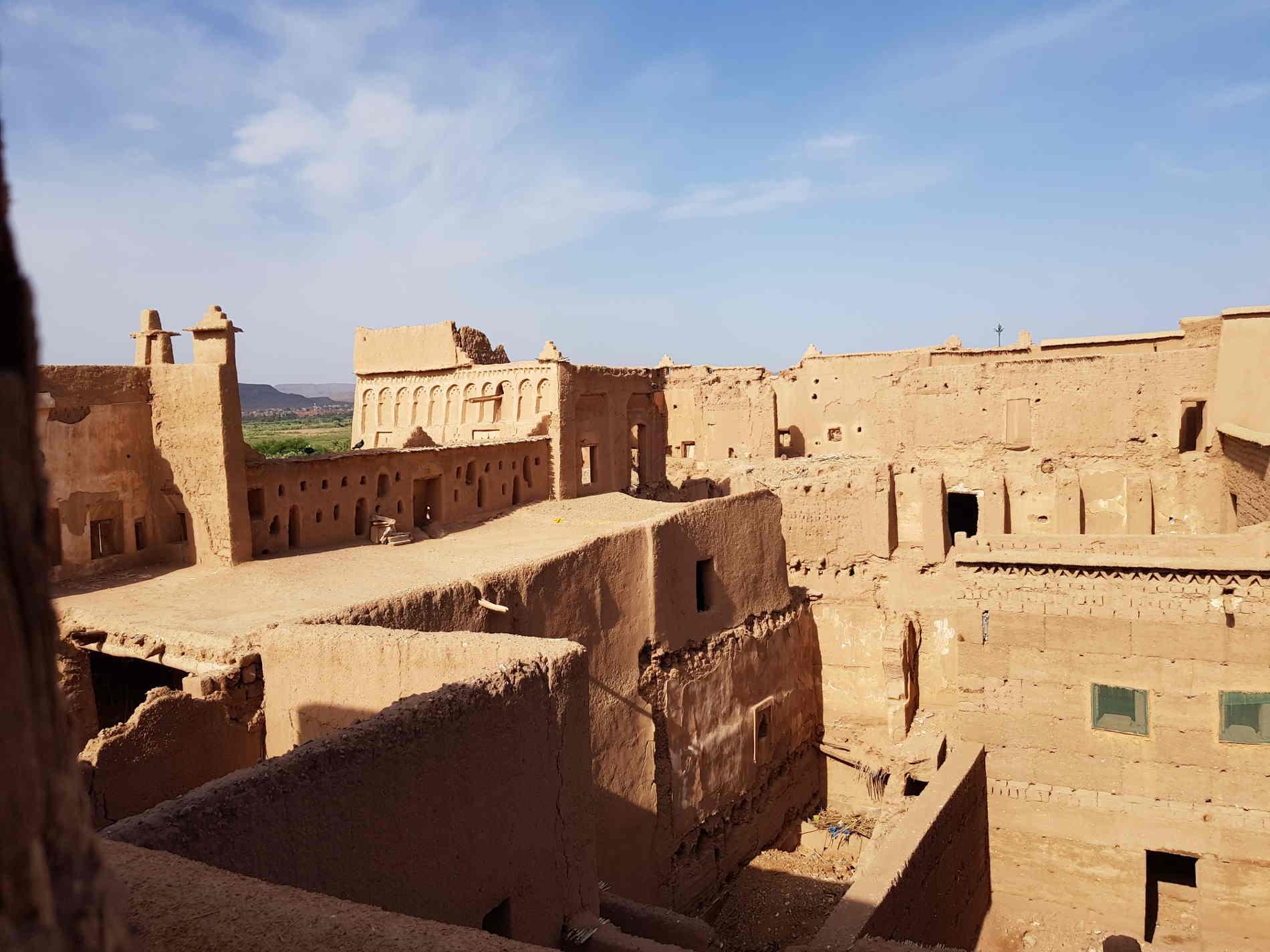 Cosa vedere a Ouarzazate e dintorn dall'alto della Kasbah di taourirt