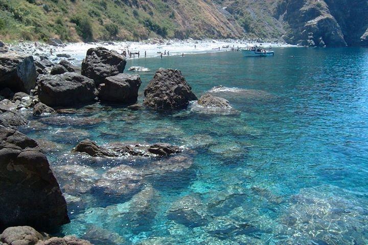 Cala janculla è a Seminara 10 spiagge più belle a Reggio Calabria