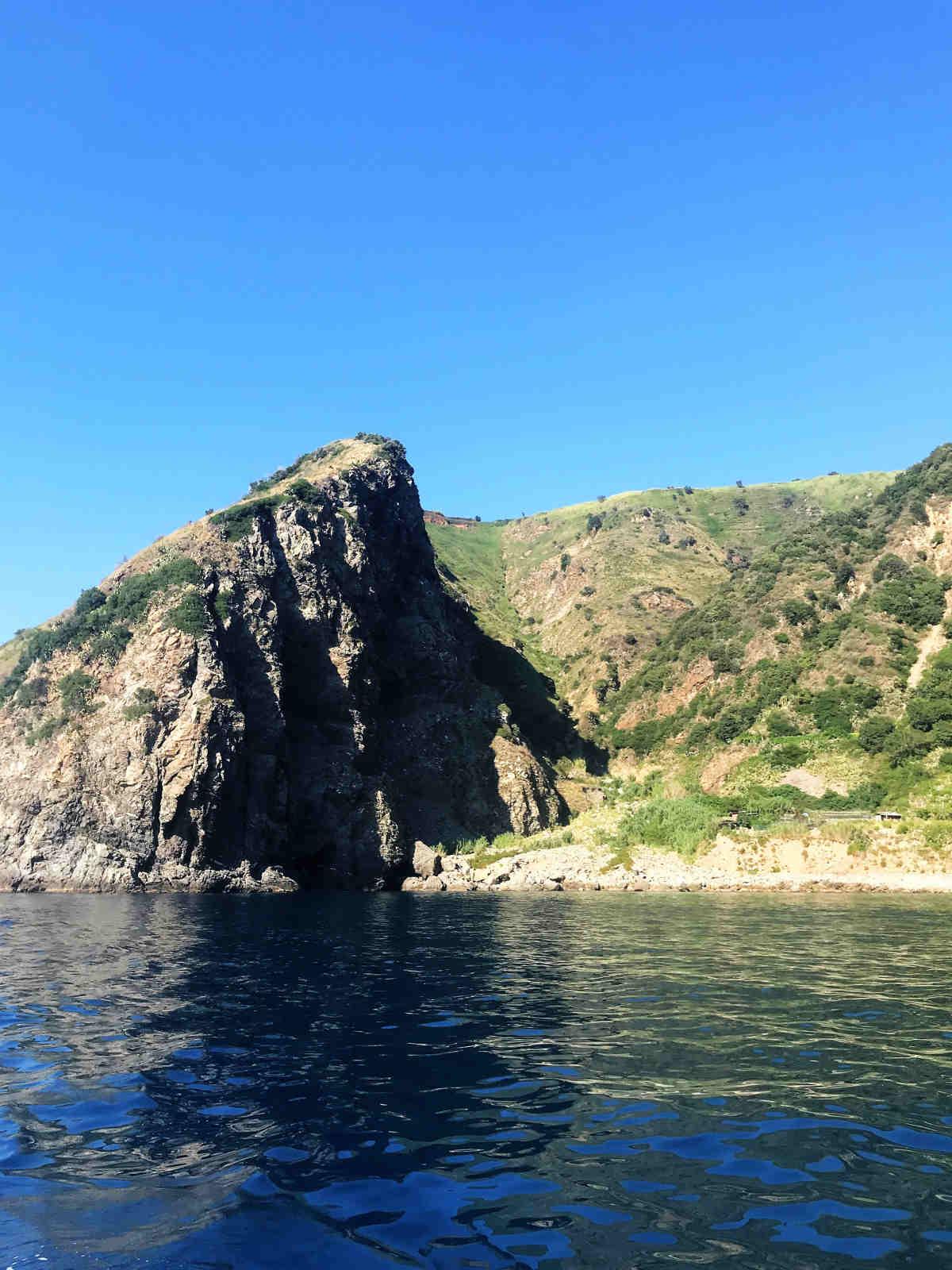Cala Rovaglioso in Costa Viola una delle spiagge più belle a Reggio Calabria e provincia