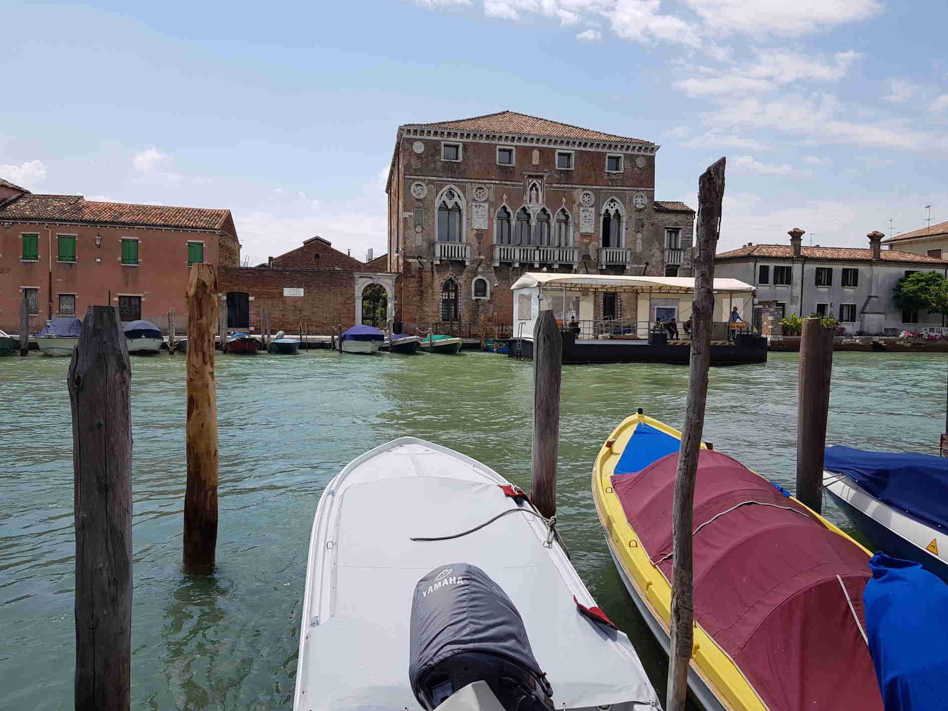 Vetro di Murano - fornaci sul canale