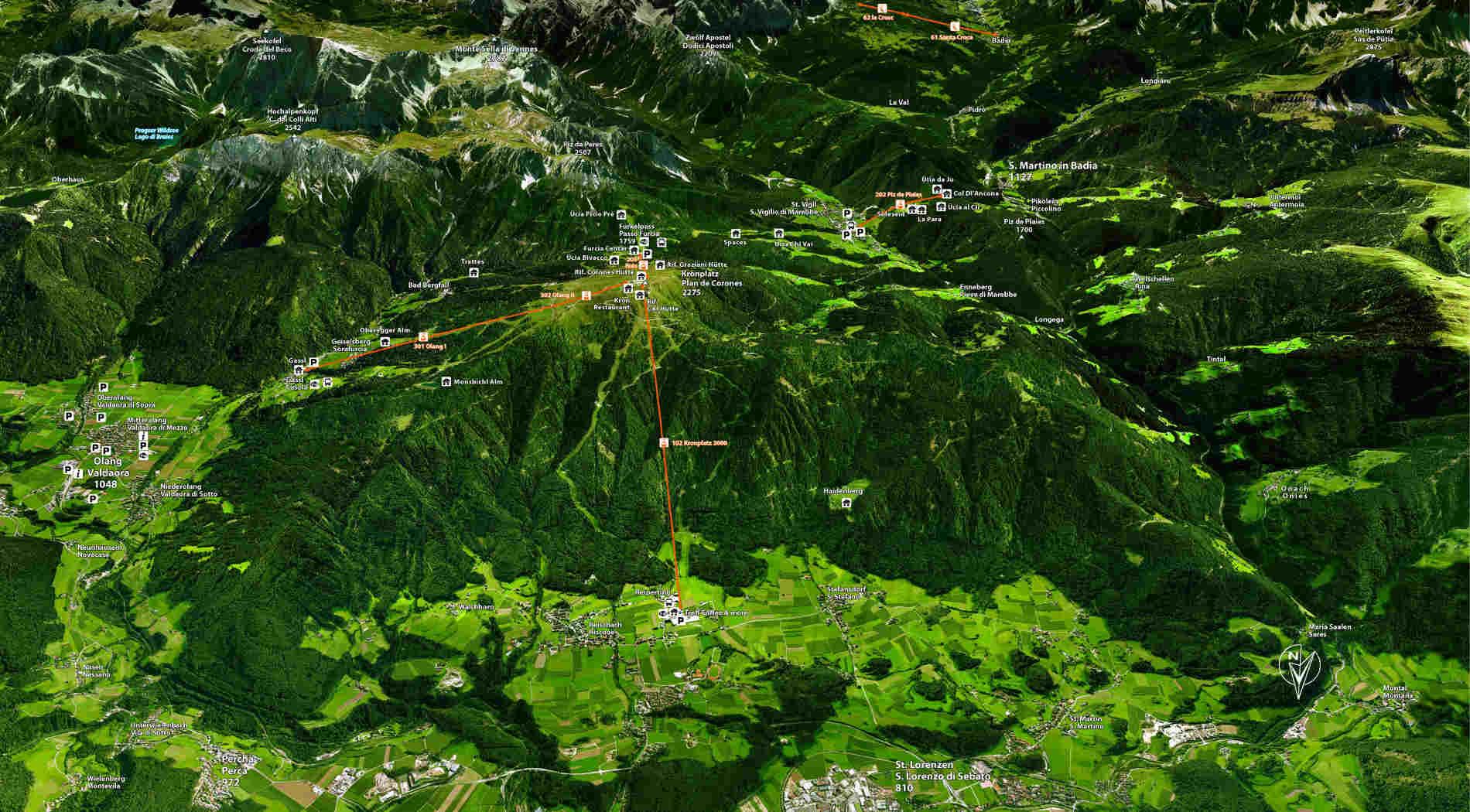 Cosa visitare oltre il Lumen Museum a Plan de Corones in estate