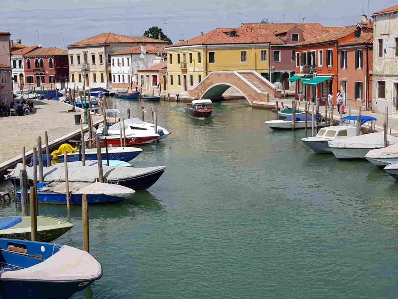 Canali a Murano- vetro di Murano