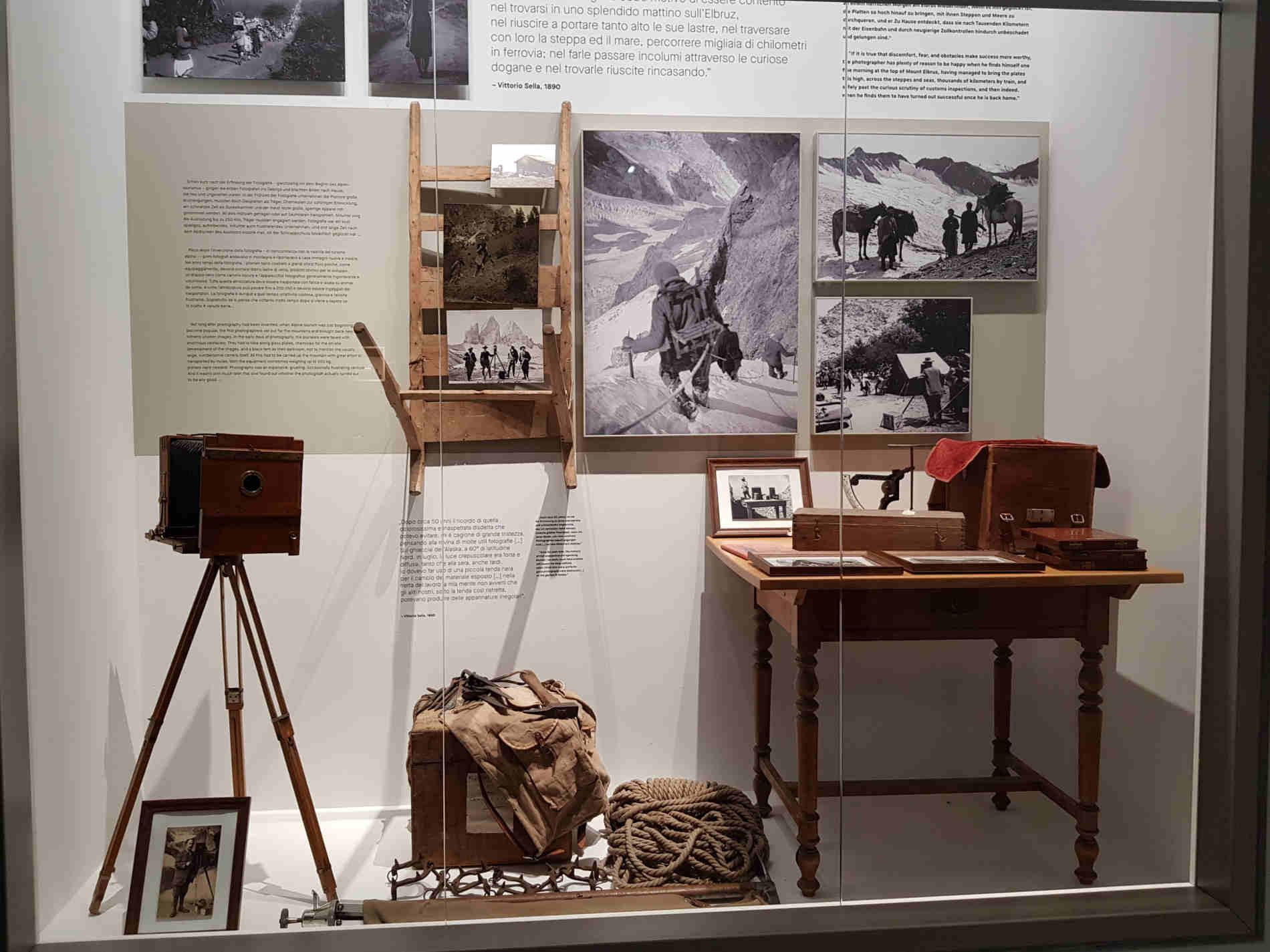 attrezzature per la fotografia di Montagna - Lumen Museum a Plan de Corones
