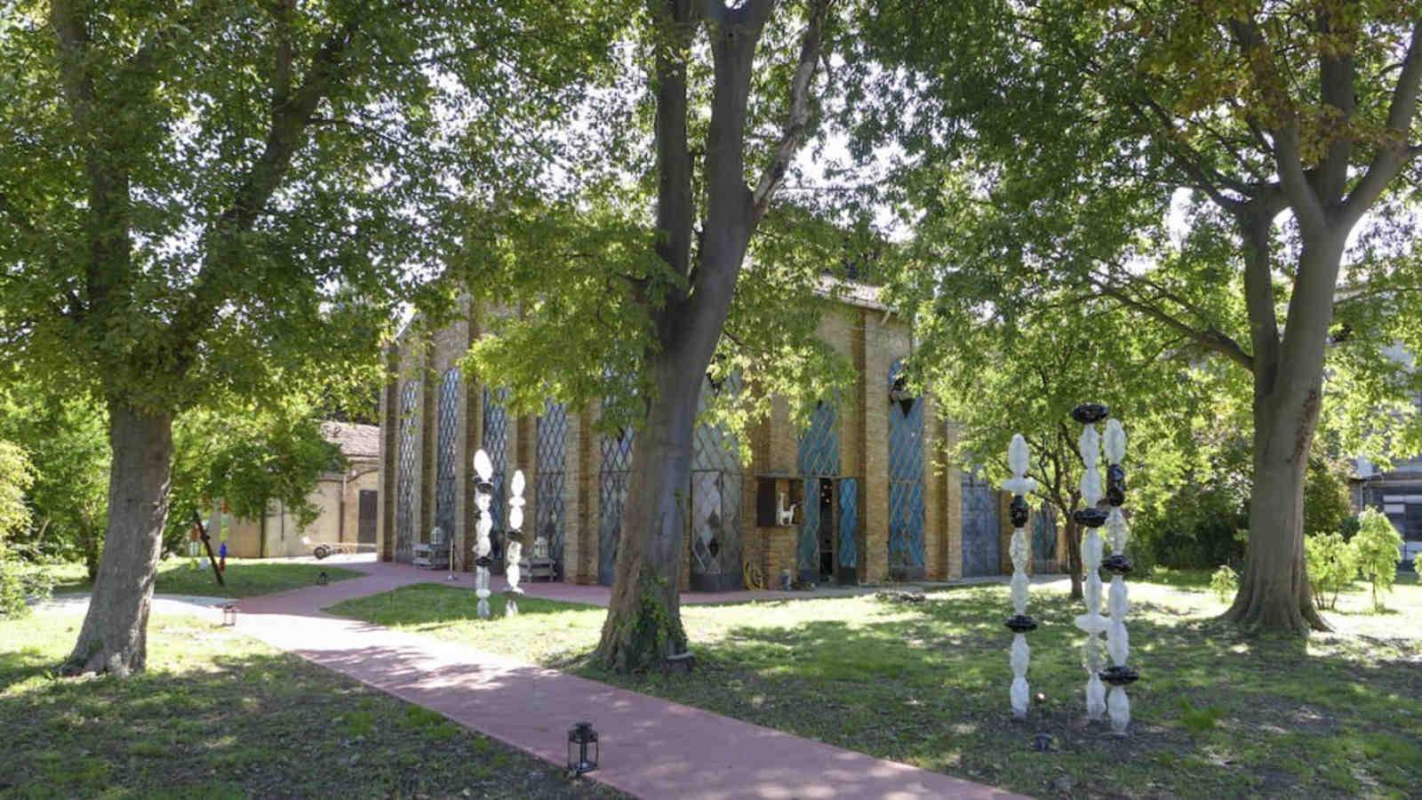 Il Parco della Cattedrale - Fornace di Aristide Najean Vetro di Murano
