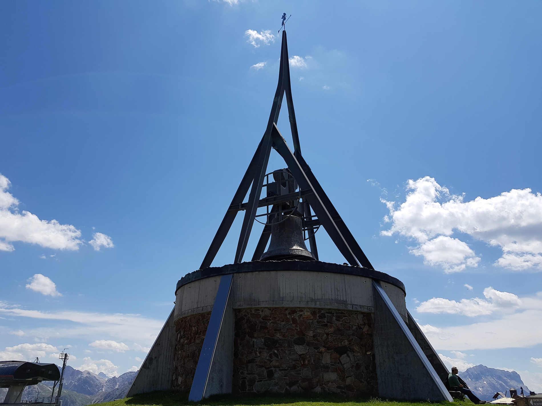 """Campana della pace """"Concordia 2000"""" Kronplatz - Lumen Museum a Plan de Corones"""