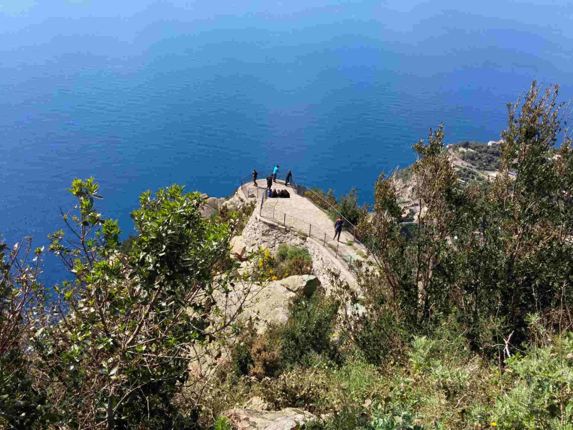 Balcone sulla Costa viola a Palmi da Monte Sant'Elia