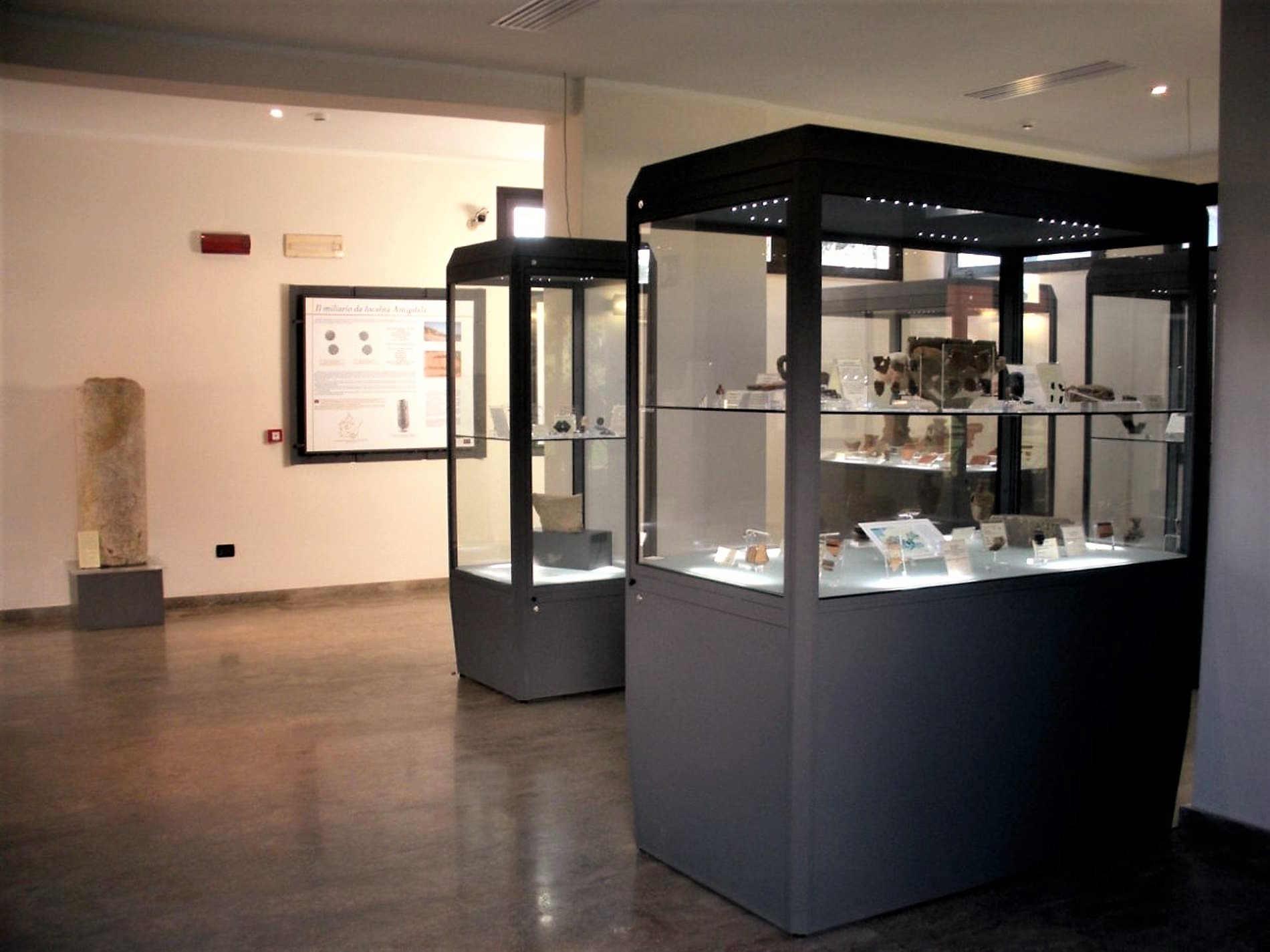 Museo nel parco archeologico di Archeoderi a Bova Marina Reggio Calabria
