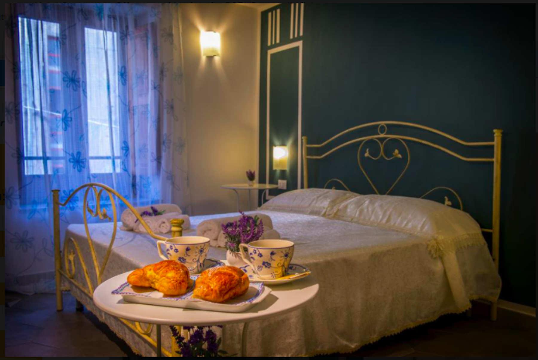 Una camera del B&B Margherita a Cetraro