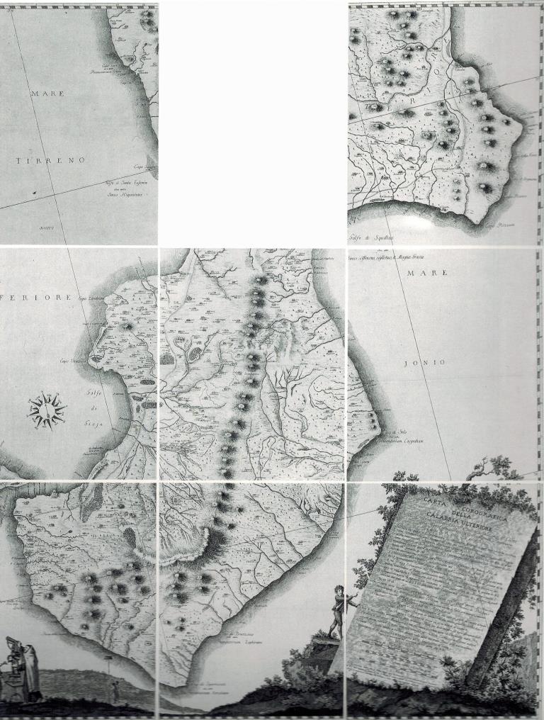 Cetraro, il Museo dei Brettii e del mare - Perchè visitarlo e cosa vedere - Carte Corografiche della Calabria Ulteriore di Padre Eliseo della Concezione