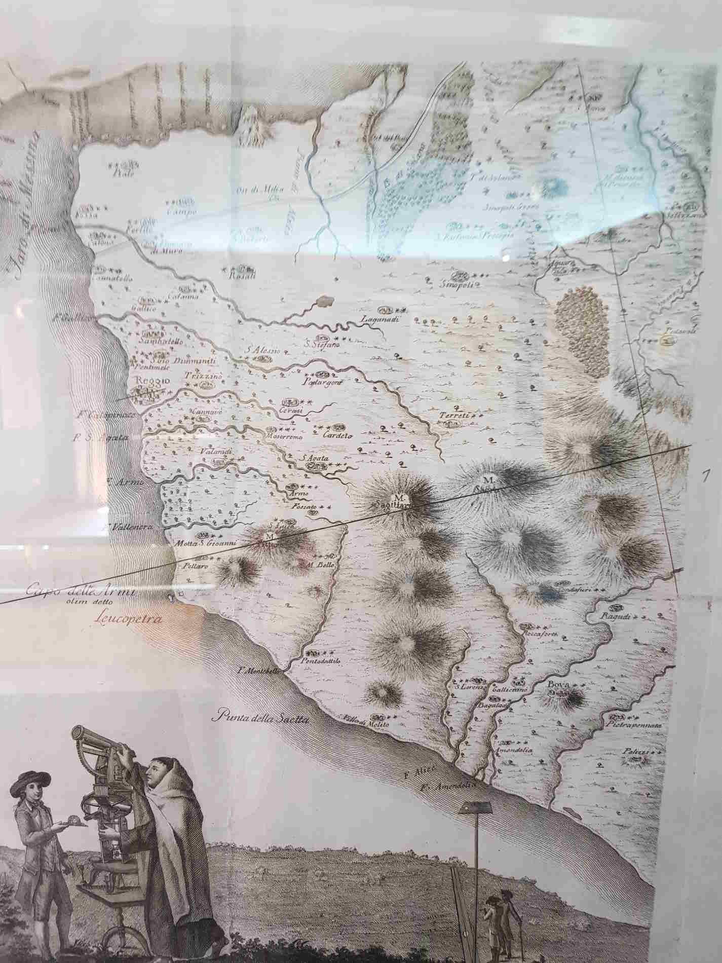Carte Corografiche della Calabria Ulteriore di Padre Eliseo della Concezione